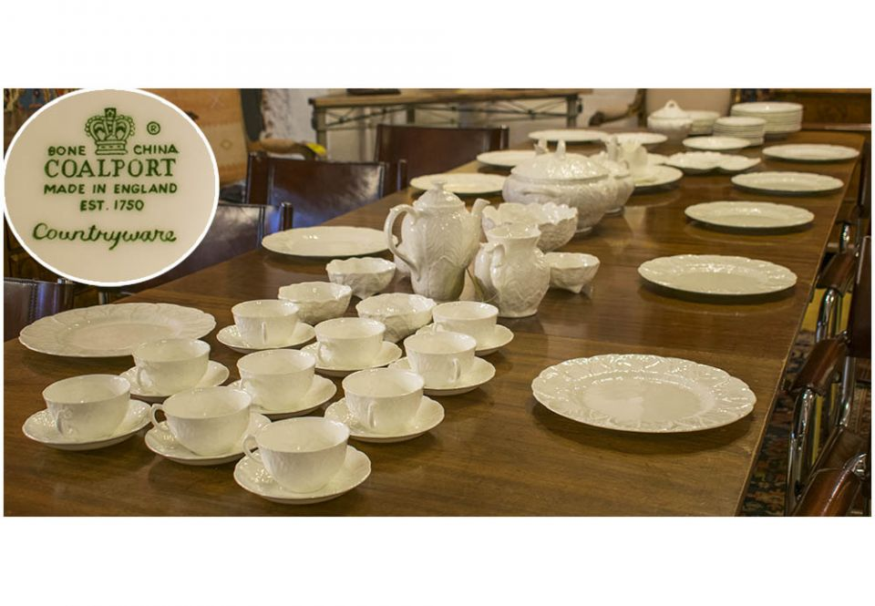 Image  sc 1 st  Lots Road Auctions & COUNTRYWARE DINNER SERVICE Coalport English Fine Bone China ...