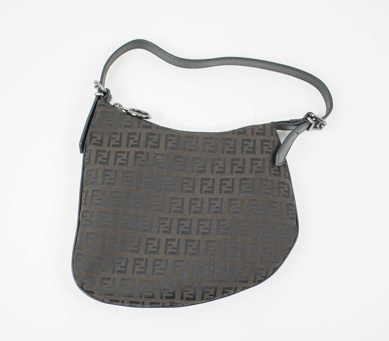 89354c3e31a8 FENDI ZUCCA OYSTER BAG