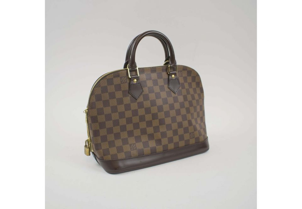 LOUIS VUITTON DAMIER ALMA PM BAG ea389ffb12f40