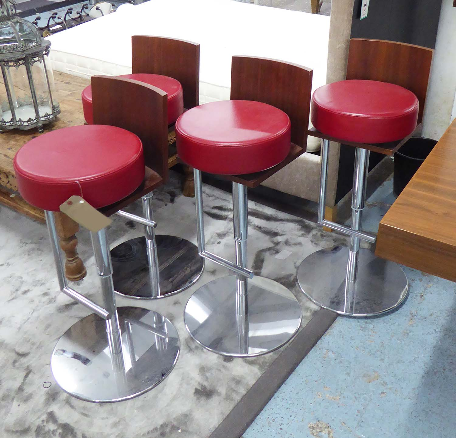 Poltrona Frau Le Spighe Bar Stools A Set Of Four By