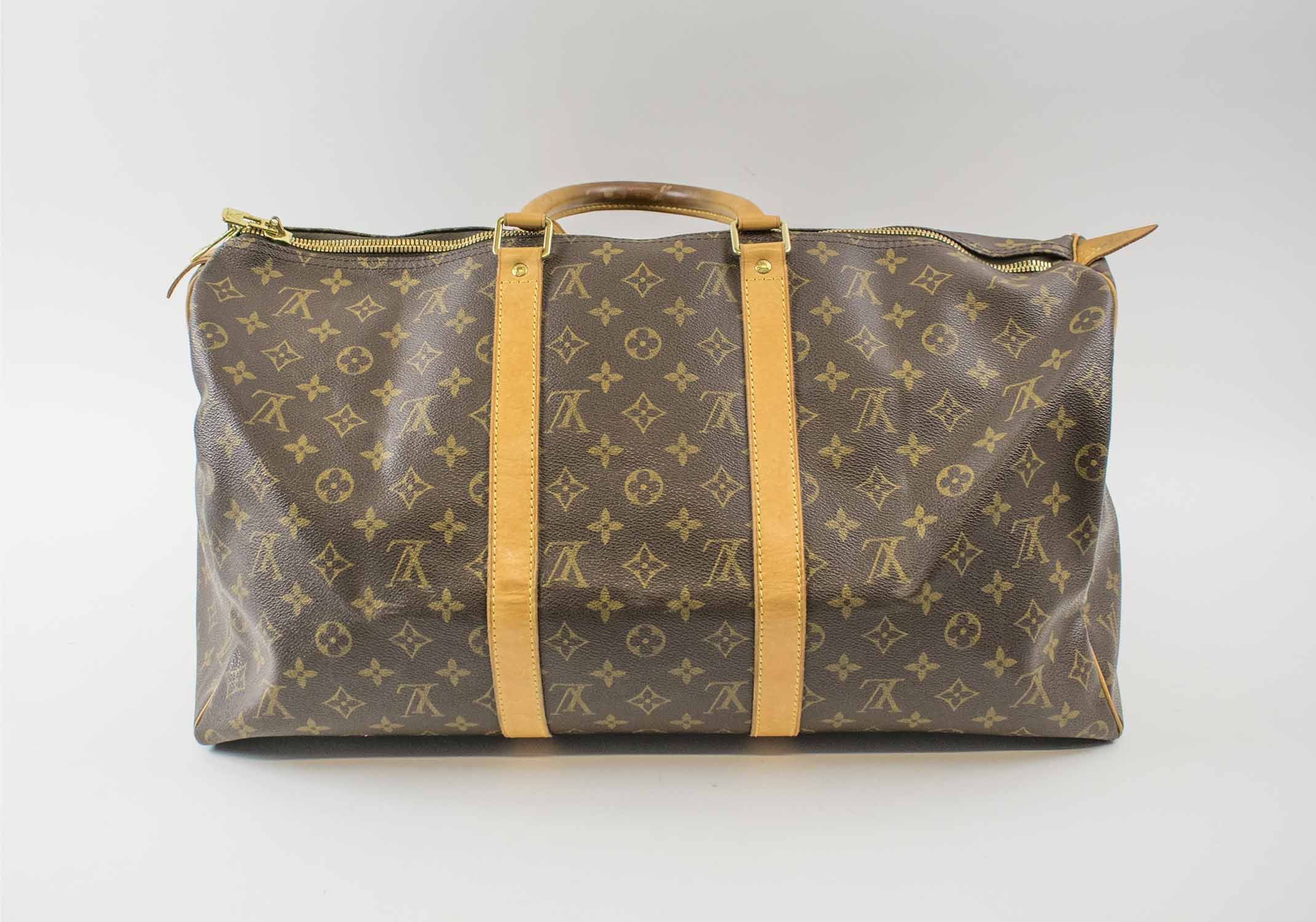 f7073d3947e LOUIS VUITTON KEEPALL 50 TRAVEL BAG