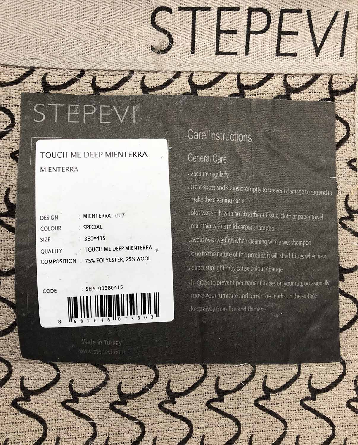 STEPEVI TOUCH ME DEEP MIERTERRA CARPET