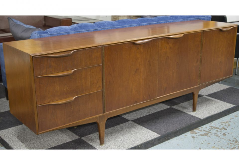 new style dd029 87e3e SIDEBOARD, 1970s, teak, with drawers and cupboards on ...