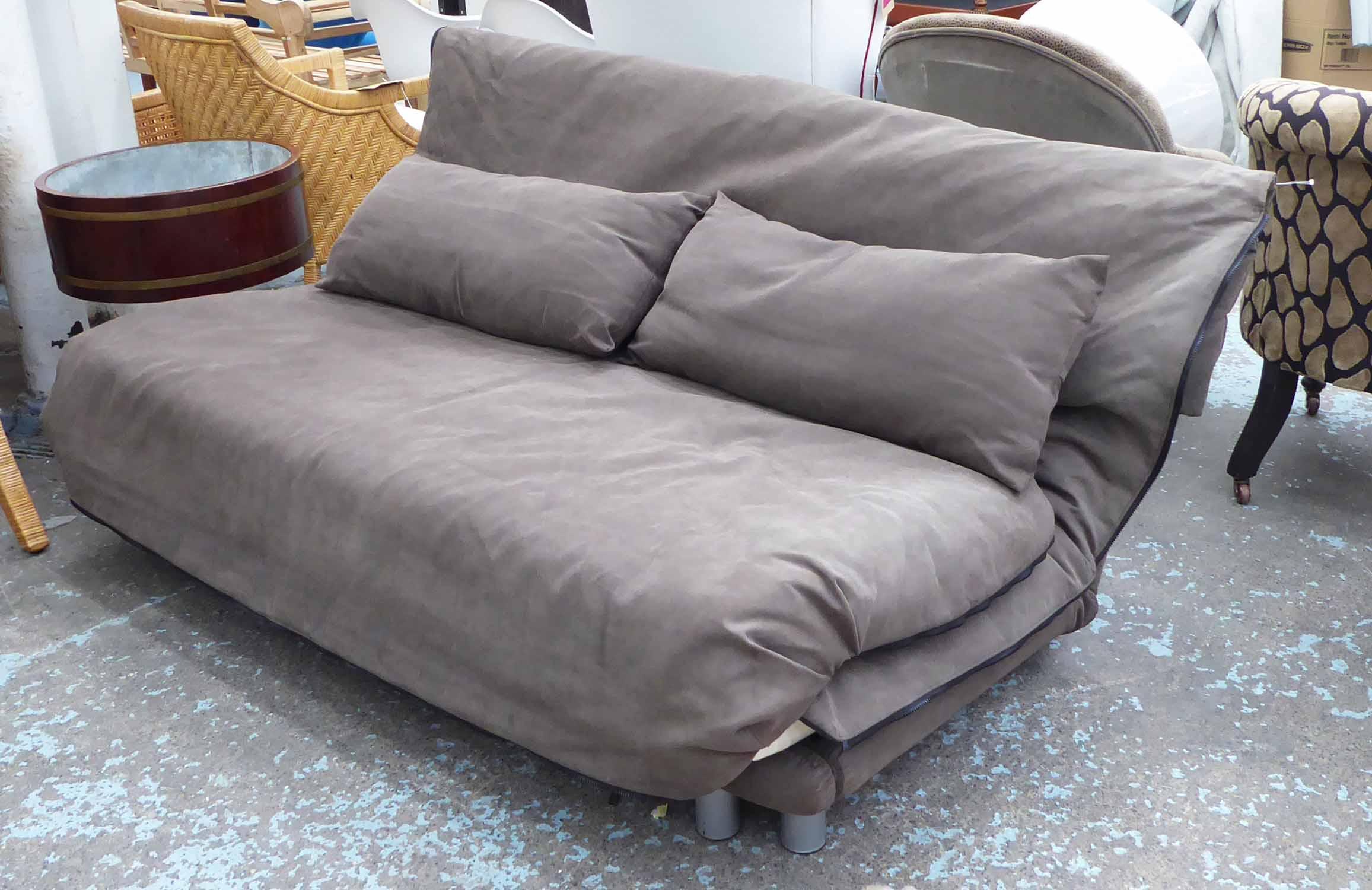 LIGNE ROSET MULTY SOFA BED, by Claude Brisson, 165cm W